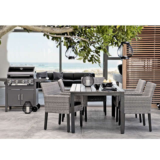BuyKETTLER Bretagne 6-Seater Outdoor Dining Table Online at johnlewis.com