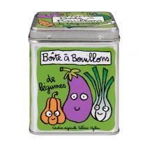 Boite à cubes de bouillons de légumes