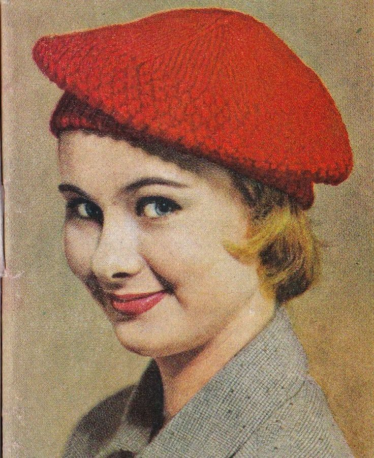 Vintage Knitting Pattern Beret : 117 best images about Tam on Pinterest Fair isles, Free pattern and Rowan