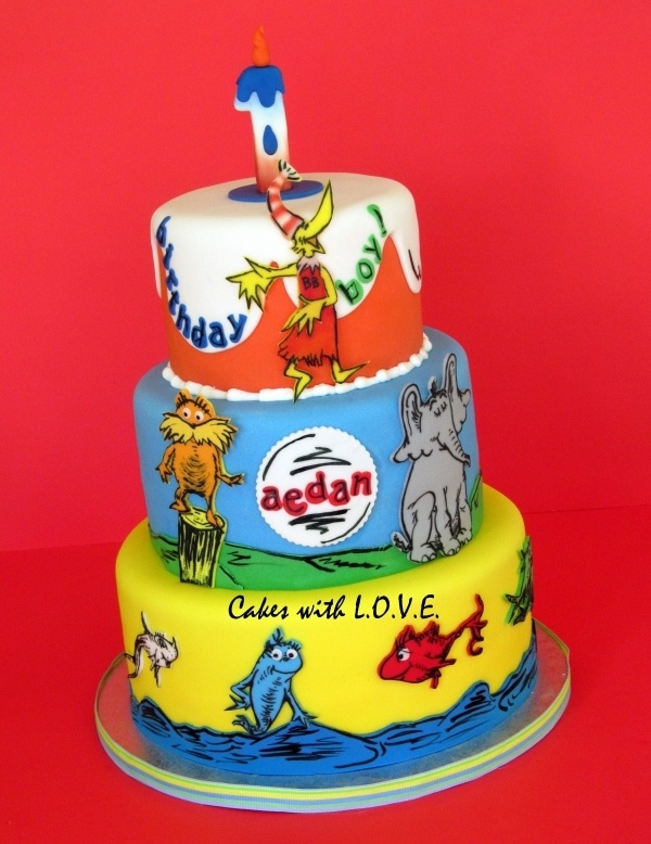 101 best Cakes Dr Seuss images on Pinterest Dr suess Frosted