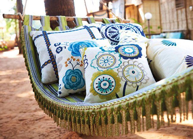 Harlequin - Jardin Boheme Fabrics available from Vanilla Interiors