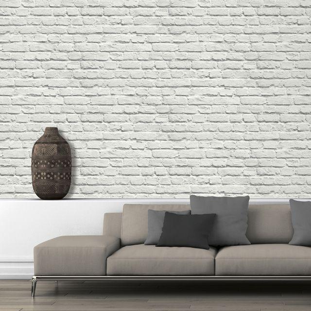 Les 44 meilleures images du tableau esprit loft sur pinterest lofts briques et peindre - Papier a peindre castorama ...