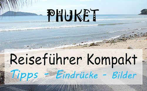 """Ab heute gibt es auf Backpackingase einen neuen Artikel zu Phuket - der größten Insel Thailands.  Gleichzeitig starte ich hiermit meine erste Artikelserie """"Reiseführer Kompakt"""" in der nach und nach viele verschiedene Orte Thailands übersichtlich und kompakt vorgestellt und von mir beschrieben werden ;-)  Schau doch einfach mal vorbei auf: http://www.backpackingbase.com/reisefuehrer-kompakt-phuket/  Ich freu' mich drauf ;-)"""
