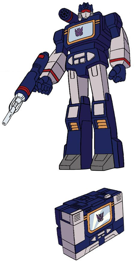 Transformers Generation 1 Cartoon Characters : Best soundwave and his cassette tape minions images on