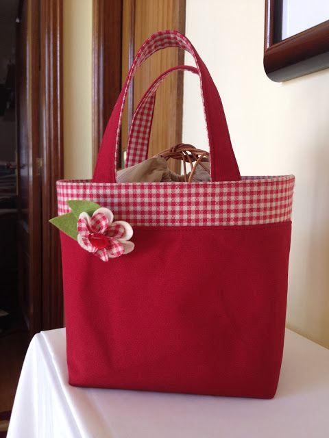 saco almoço (lunch bag) | Gracinhas Artesanato