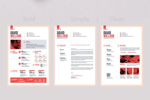 The Ultimate Resume Template Cv Template Builder Graphic By Contestdesign Creative Fabrica Resume Template Cv Template Template Design