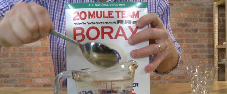 How to make do-it-yourself slime using Elmer's glue and borax.