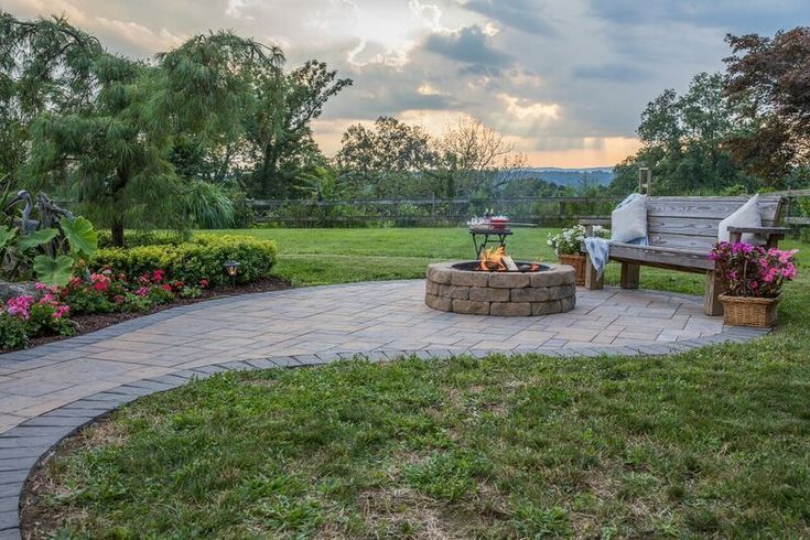 Nothing is better than a glass of wine and great company! Your friends and family will love coming over to sit by your Cambridge Fire Pit. Installation: Meyer for Hire