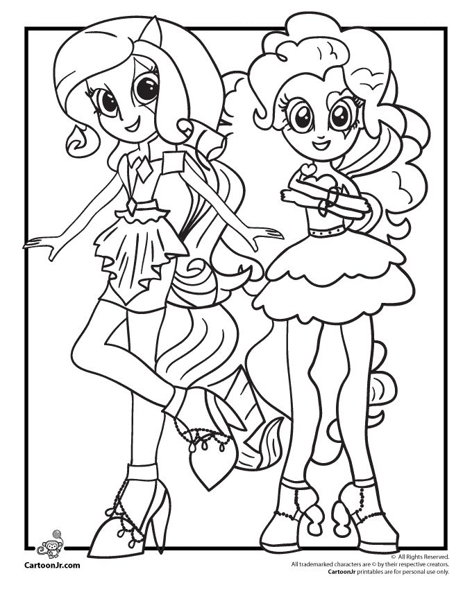 595 best pics images on Pinterest Coloring pages, Coloring - copy my little pony coloring pages of pinkie pie
