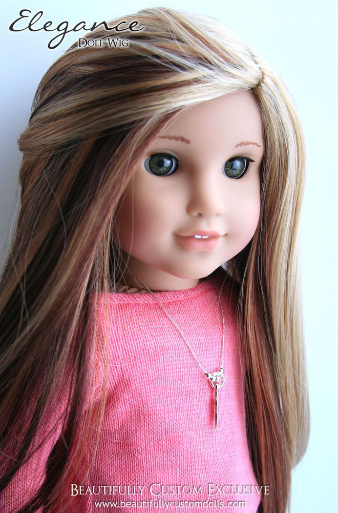Details About Quot English Toffee Quot Doll Wig For Custom
