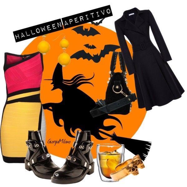 """Halloween Aperitivo"" by furettina on Polyvore"