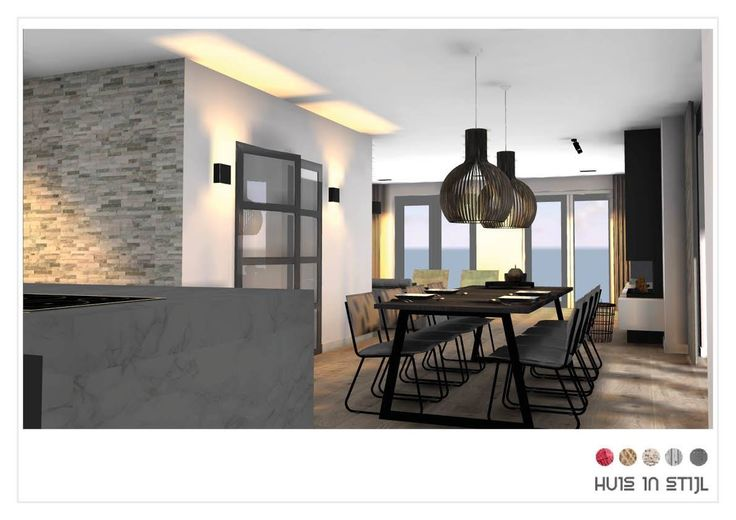 Interior- & Lighting design by Huis in Stijl