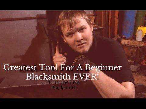 Greatest Tool for a Beginner Blacksmith EVER! - YouTube