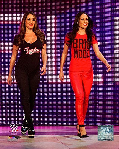 WWE Bella Twins Halloween Costumes #WWE #BellaTwins #Halloween #Costumes