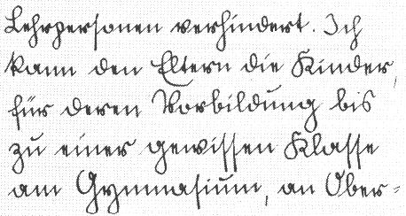 This old German handwriting was called Sütterlin. Most Germans can't read it anymore.