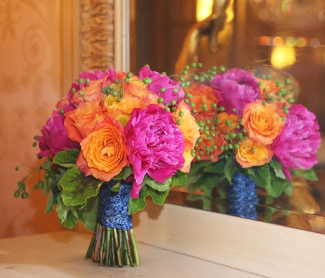 San Diego Style Weddings: Blossoming Bouquets: Urban Garden Floral