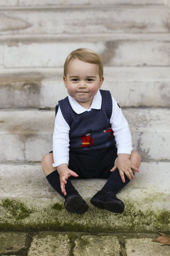 Prince George Couldn't Be Cuter in His New Holiday Pictures: It's a holiday gift from the royals!