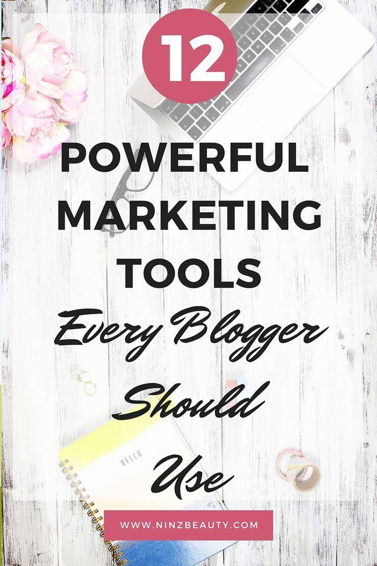 Top 12 free powerful marketing tools and sources for bloggers to run a successful blog.