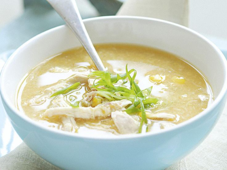 Chicken and sweet corn soup is wonderfully warming, perfect for a cool Winter's evening.