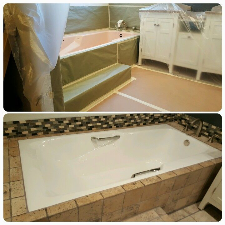 Protecting Your Remodel + First Class Craftmanship U003d Satisfied Customers! Bathtub  Reglazing Refinishing Los Angeles