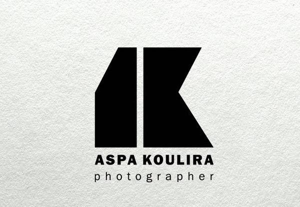 Logo photographer by Panos Nikolaou, via Behance