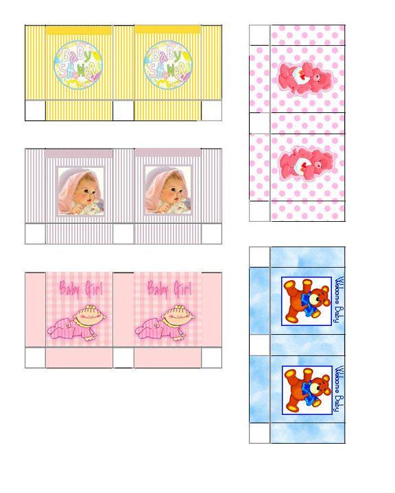 Free Dollhouse Printable Miniature gift bags