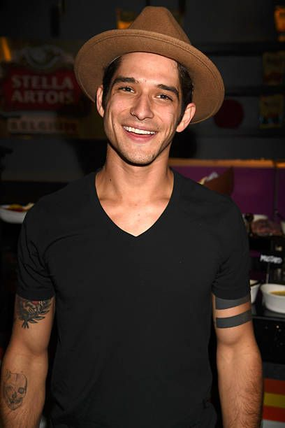 Actor Tyler Posey backstage at the People's Choice Awards 2017 at Microsoft Theater on January 18 2017 in Los Angeles California