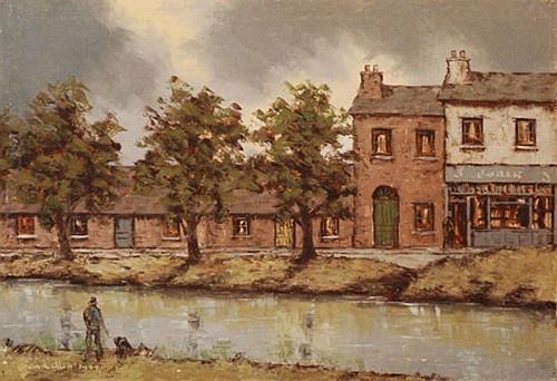 Tom Cullen ''Grand Canal'' #irishart #DukeStreetGallery