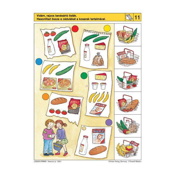 Logico Primo feladatkártyák - Vásárolni jó - . kép