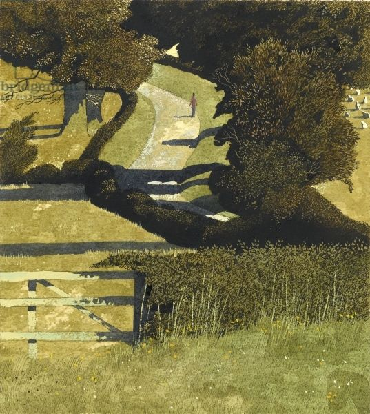 Simon Palmer (British, 1956-) > Cross-Country Road