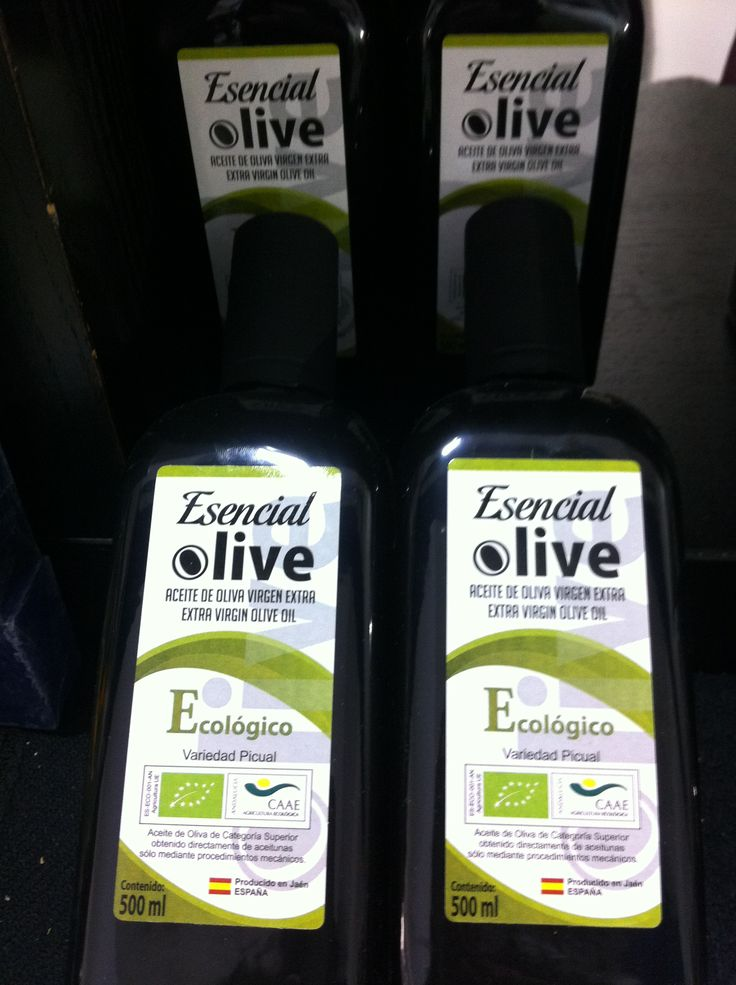 """#Newproduct #Novedad2015 Esencial Olive early harvest available also #organic certified. Tasting note: """"Green color with shiny yellow reflections. Typical freshness due to an early harvest and green fruit. Intense fruity of green nuances with a nose of herbaceous aromas and pleasant memories of aromatic herbs reminding of green pastures and fresh olives. #EsencialOlive #Ecológico #Organic #Evoo #cosechatemprana #earlyharvest #Jaen #OliveOilfromSpain"""