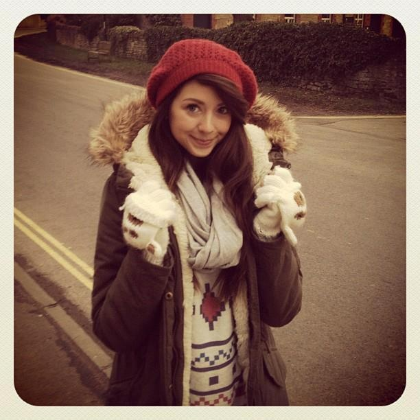 Zoella- I've probably already pinned this but I actually love her and her videos her and Louise are both my inspirations:-)