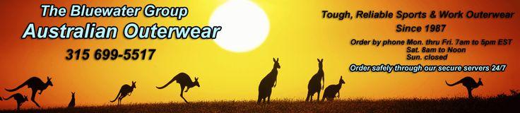 Australian Clothing - FREE shipping on Kakadu Products, Jacaru, Akubra, Kakadu, Barmah and Wallaroo Australian Hats, Jackets, Shirts, Coats,...