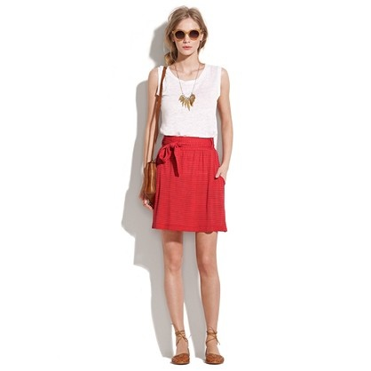 Drawstring Skirt from Madewell.Poppies Drawstring, Drawstring Skirts, Spring Summe Outfit, Spring Summe 2012, Simple Skirts, Spring Summe Style, Simple Style, Spring Summe Fashion, Coral Skirts