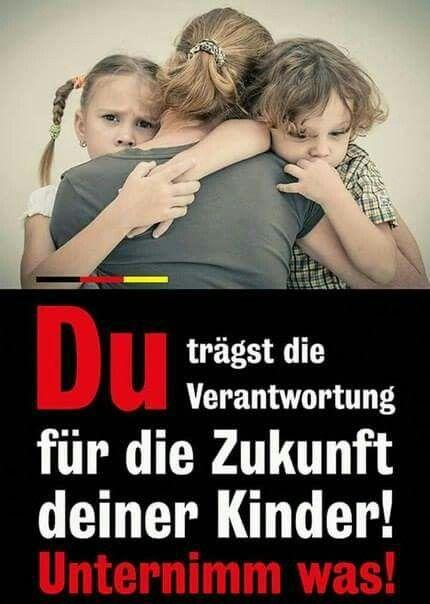 Du trägst die Verantwortung für die Zukunft deiner Kinder! Unternimm was!
