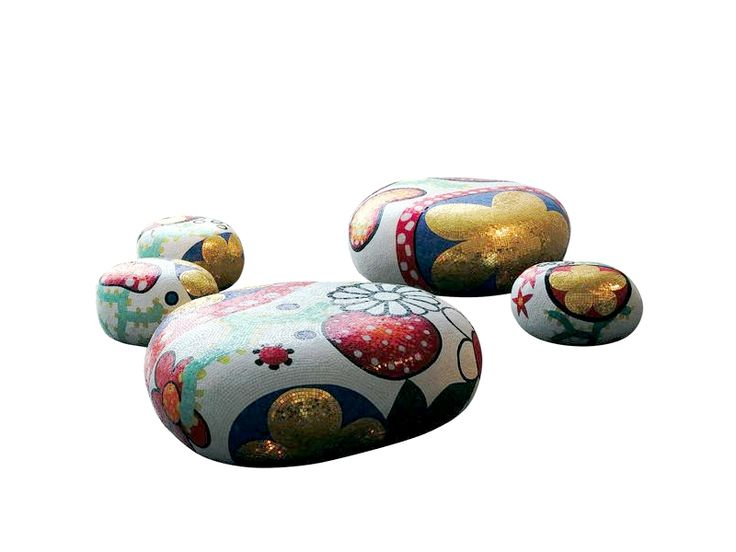 ALICE, BEATRICE, CECILIA, DAPHNE & ELENA Coffee Tables-Side Tables-Poufs by Marcel Wanders (2004-2012) from BISAZZA  http://www.design-fair.com/alice-beatrice-cecilia-daphne-elena-coffee-tables-side-tables-poufs-by-marcel-wanders-2004-2012-from-bisazza/  #Design #Art #ModernStyle #PopArt #Furniture #LivingRooms #CoffeeTables #SideTables #Poufs #Stools #Ottomans #Sculpture #MarcelWanders #BISAZZA #BISAZZAFOUNDATION #Italy #Italian #Netherlands #Dutch