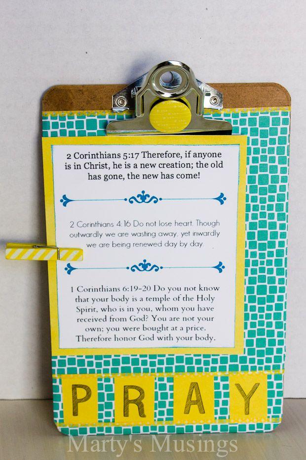 Altered Mini Clipboard Craft :: Hometalk