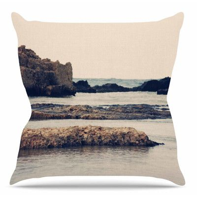 """East Urban Home Mediterranean II by Sylvia Coomes Throw Pillow Size: 16"""" H x 16"""" W x 4"""" D"""