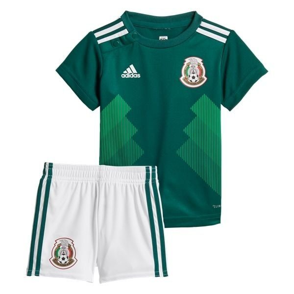 Mexico Home World Cup 2018 2019 Jersey W Shorts Kid Youth For Age 3 13 Mexico Soccer Shirt Sports Uniform Design Kids Soccer