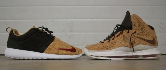 "Nike Roshe Run FB – ""Cork"" | By AMAC Customs"