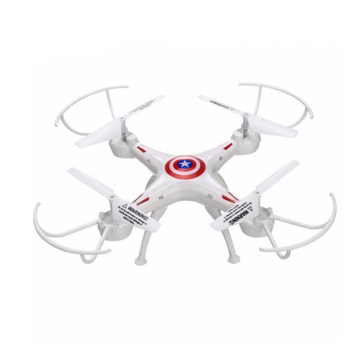 White 2.4GHz 6 Channel RC Drone 6-Axis Remote Control Helicopter Quadcopter //Price: $45.00      #followme