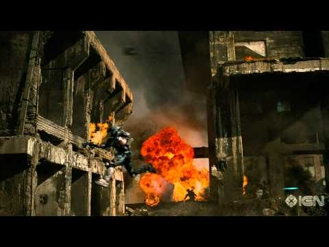 Halo trailers were always awesome. Here's one from Reach.