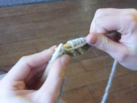 Cours de tricot 10 - le point de riz