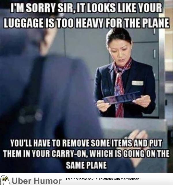 Isn't air travel just awesome