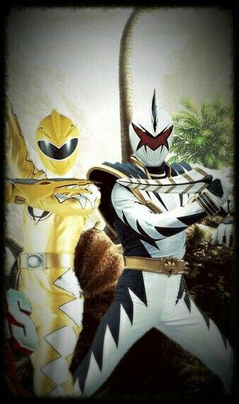 Power ranger dino thunder kira and trent