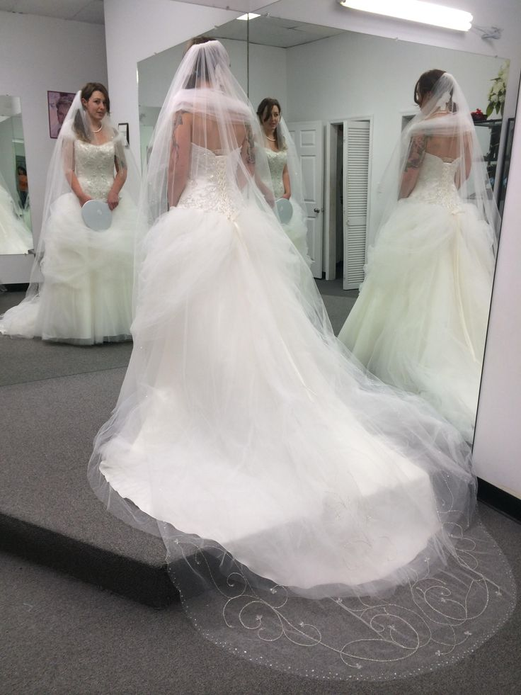 Bustle wedding dresses forward bustle