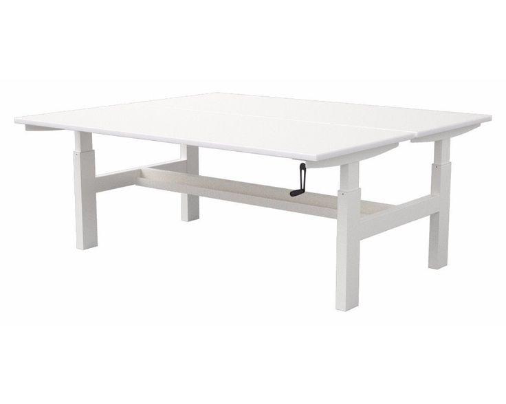 Activ Height Adjustable Dual Bench Workstation – Dunn Furniture