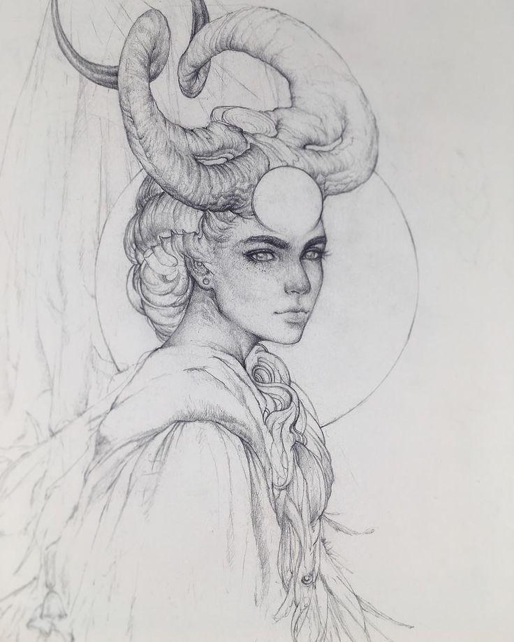 TBT – Ich sammle alle meine Bleistift- und traditionellen Zeichnungen der letzten zwei Jahre und diese Skizze lag ganz oben auf dem Stapel. Dezember