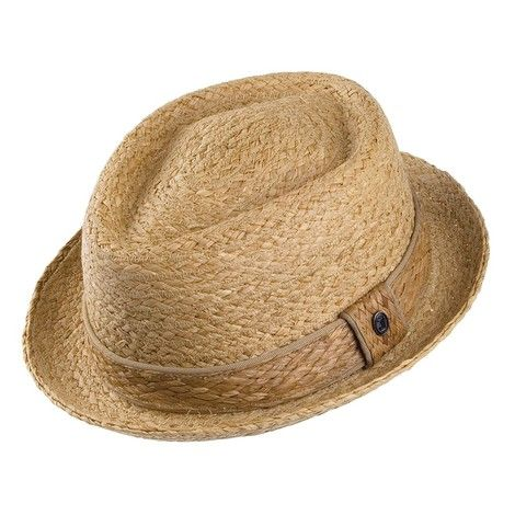 Empanada de cerdo Jaxon & James rafia Diamond Crown Sombrero - Sombreros Natural de Village.