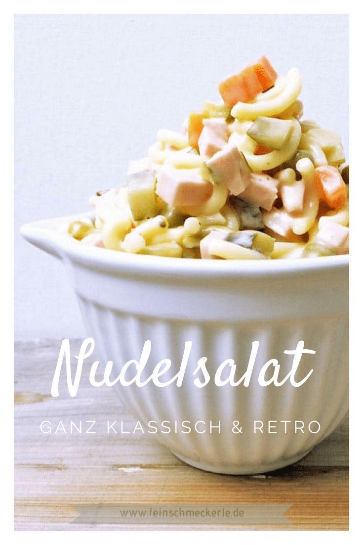 Retro! Der beste Nudelsalat klassisch Feinschmeckerle Style